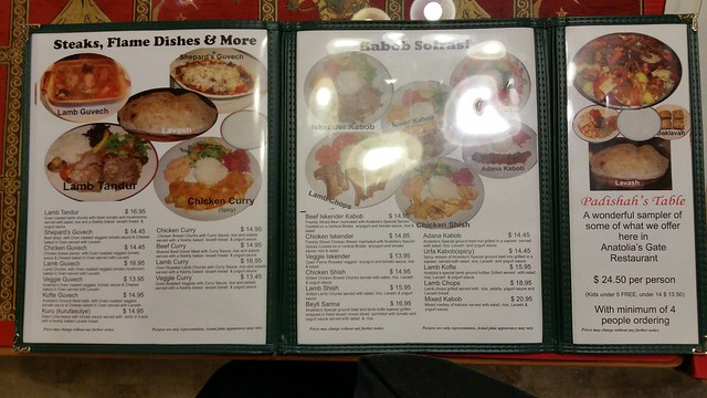 2015-Nov-20 Anatolia's Gate menu 2 of 3