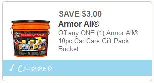Car Care Gift Bucket Coupon