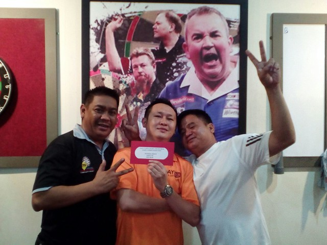 Nayu Cafe & Dart 2nd Double Competition 2015. Joint 5th