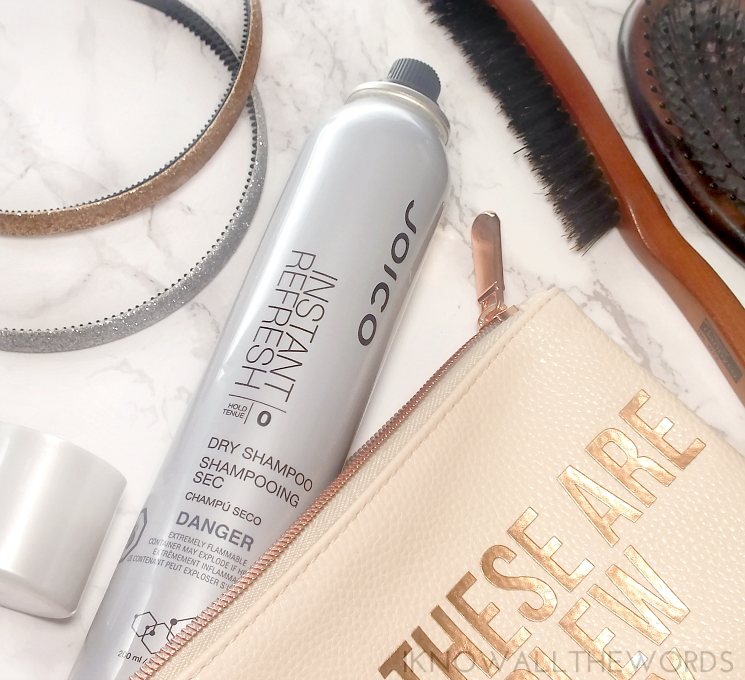 the dry clean joico instant refresh dry shampoo