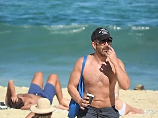Зображення Tamarama Beach. people beach water sand outdoor guy man cup fit muscle