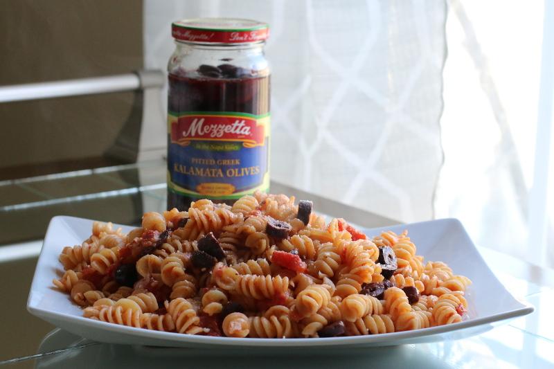 Tomato-Olive-Rotini-Pasta-recipe-2