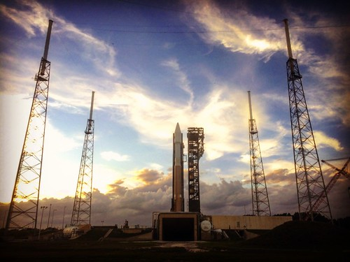 Atlas 5 sunset