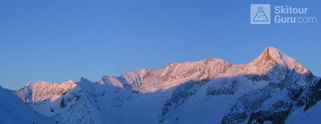 Nesthorn, Oberaletschhütte, Berner Alpen, Wallis, Switzerland, http://skitourguru.com/chata/2-oberaletschhutte