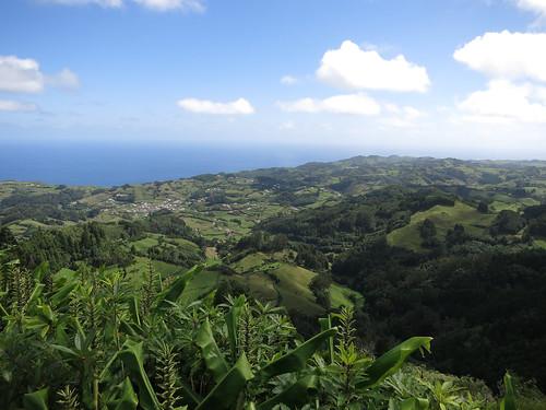 Blick vom Pico Alto nach Osten