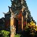 Bali 2015, Pura Puseh Temple Batuan, jody temple tower peek-a-boo WM