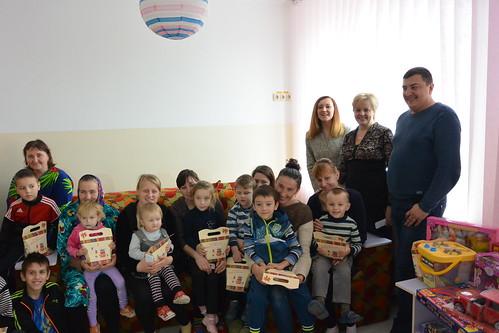 Святий Миколай прийшов і до Костопільської лікарні