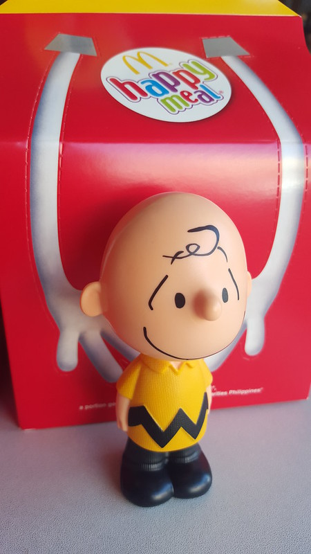 Charlie Brown McDo Happy Meal Toy | The Peanuts Movie