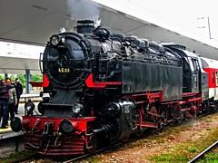 Steam locomotive 46.03 in Sofia