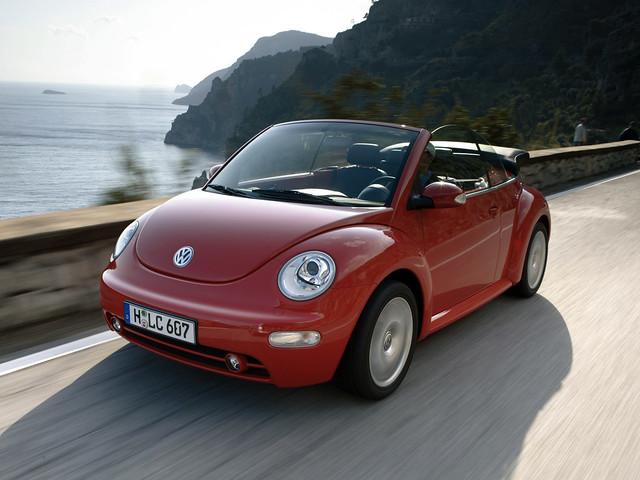 Volkswagen New Beetle Cabrio. 2000 – 2005 годы