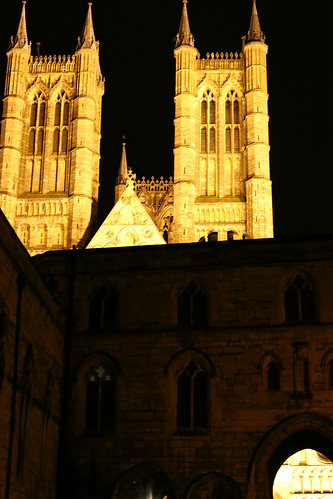 Friday evening walk round Lincoln