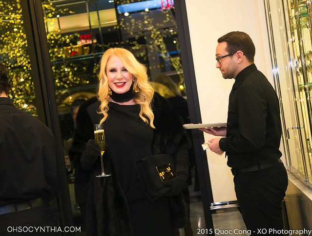 Heidi Dillon Hosts Holiday Soiree at Tom Ford
