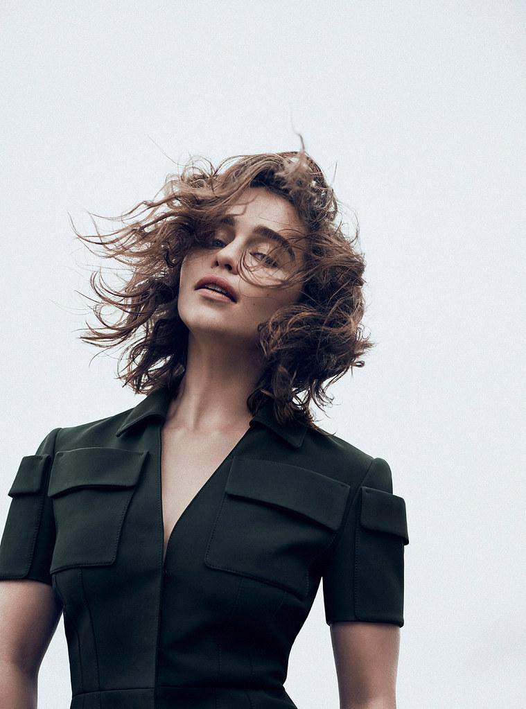Эмилия Кларк — Фотосессия для «Dior» 2015 – 6