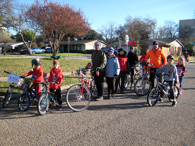 BFR - Richardson Christmas Parade Ride - 2015