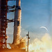 Launch of Apollo 8 lunar orbit mission by NASA on The Commons