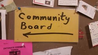 Community board