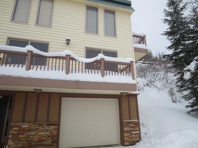 Garland of snow