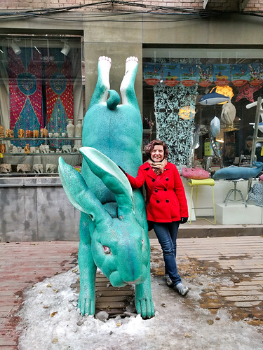 me with a hare