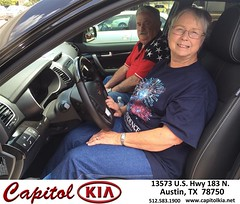 #HappyBirthday to Carolyn from Cindy Juarez at Capitol Kia!