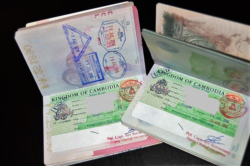 Preparativos para viajar a Tailandia y Camboya