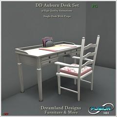 DD Auburn Desk Set PG Vendor fushion logo