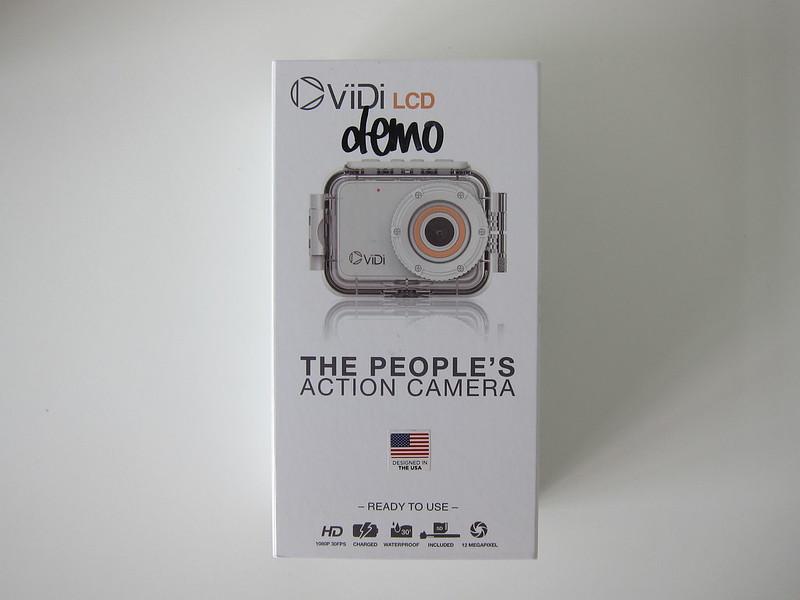 ViDi Action Camera - Box Front