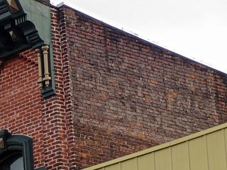 Ghost Sign, Oneida, NY