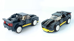 Lego 8880 as a Speed Champions car (with instructions)