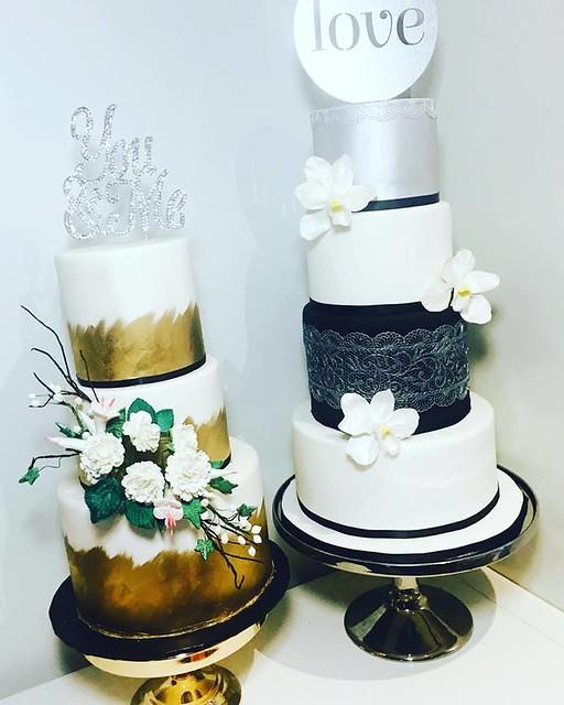 Cake by Lucinda Hampton of Cin's Cupcakes & Cakes