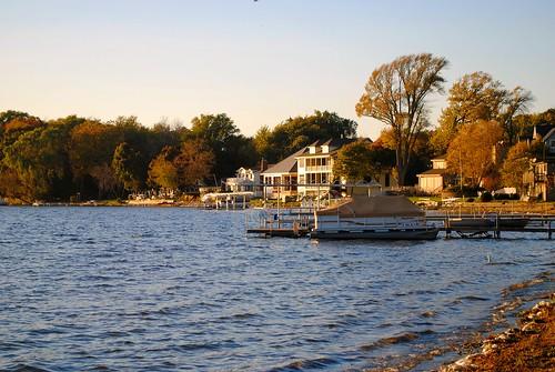 Shore of Powers Lake, Wisconsin