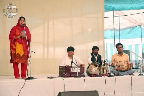Devotional song by Kiran Chawla from Rohini, Delhi