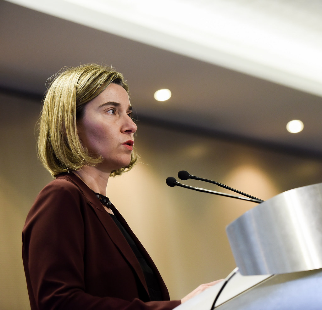Participation of Federica Mogherini,Vice-President…