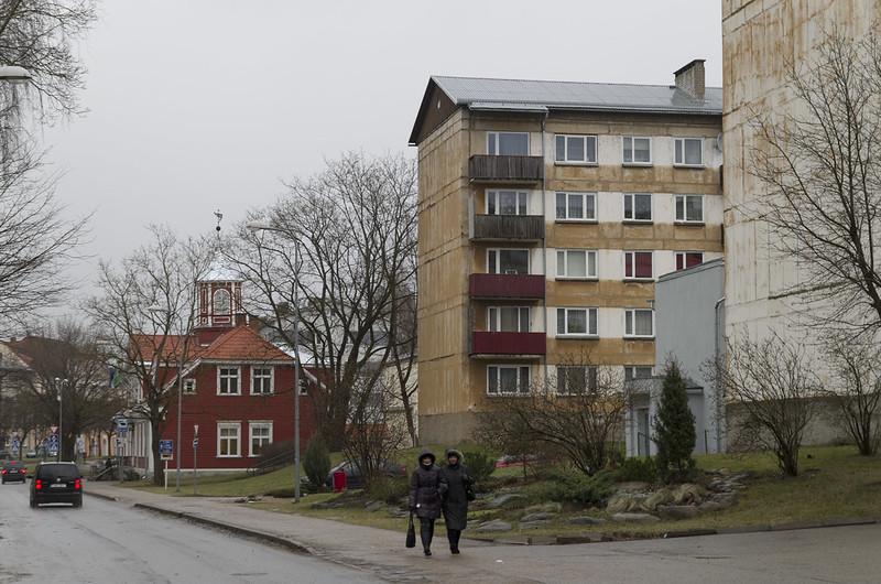 Sepa tänava hoonestus, 03.01.2015.