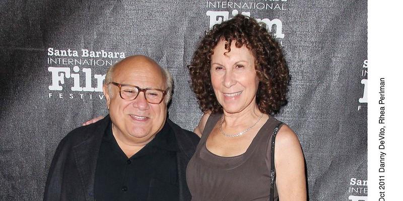 Дэнни Де Вито с супругой Реей Перлман