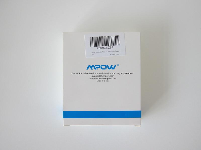 MPow Streambot Mini - Box Back