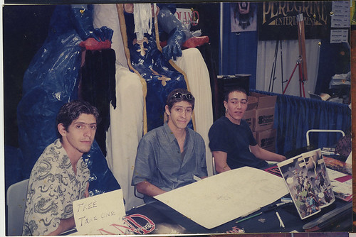 SDCC 1999, Terra Major booth.