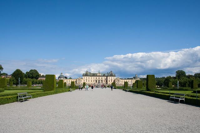 Drottningholm Palace gardens