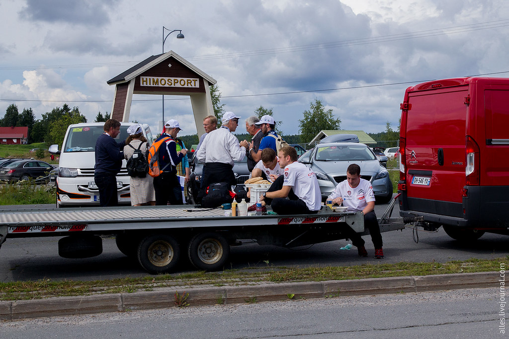 RallyFinland2015-SS_Himos_Lunch