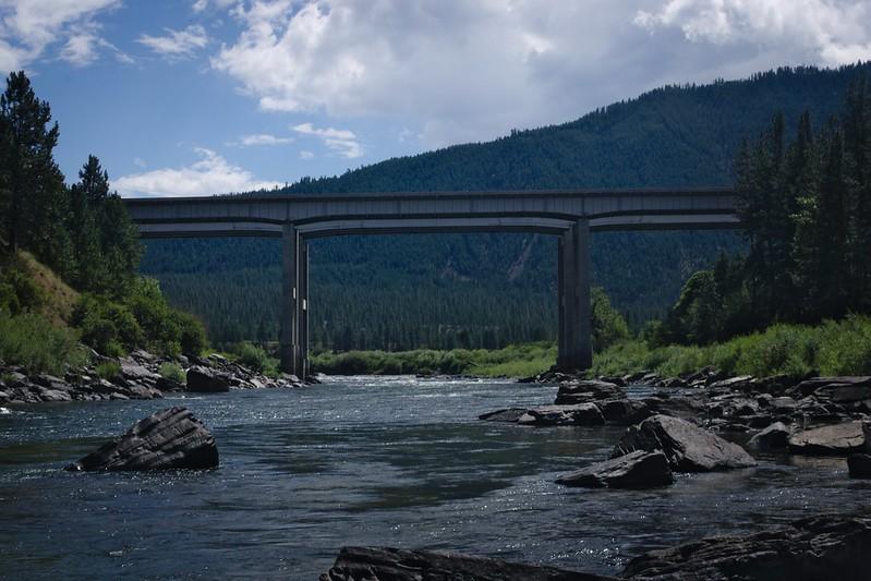 I-90 Overpass, Clark Fork, MT