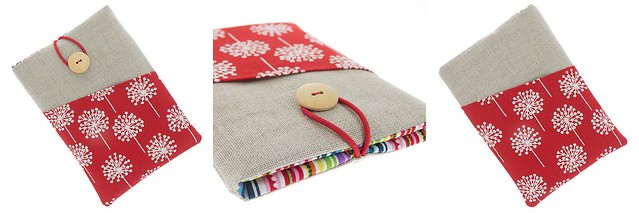 Teresa Nogueria - Fabric eBook Reader Sleeve