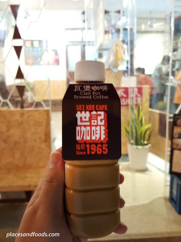 sei kee claypot brewed coffee cold bottle