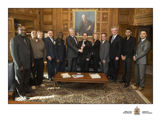 Prime Minister Harper & Torch Of Life