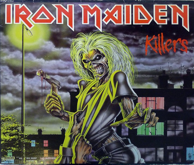 "IRON MAIDEN KILLERS FRANCE 12"" VinyL LP NWOBHM"
