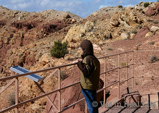 Meteor Crater in Arizona - Val in Real Life