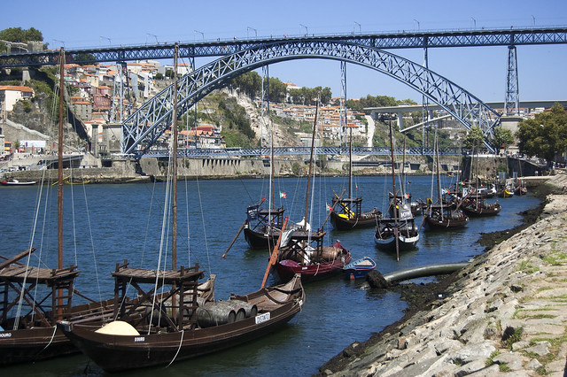 Eiffel Bridge Oporto Portugal 2015