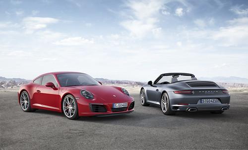 2017 Porsche 911 Carrera & CarreraS