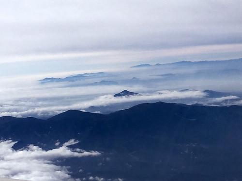 mountains nature japan clouds tohoku bandai