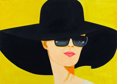 Alex_Katz, Black Hat (Bettina), 2010