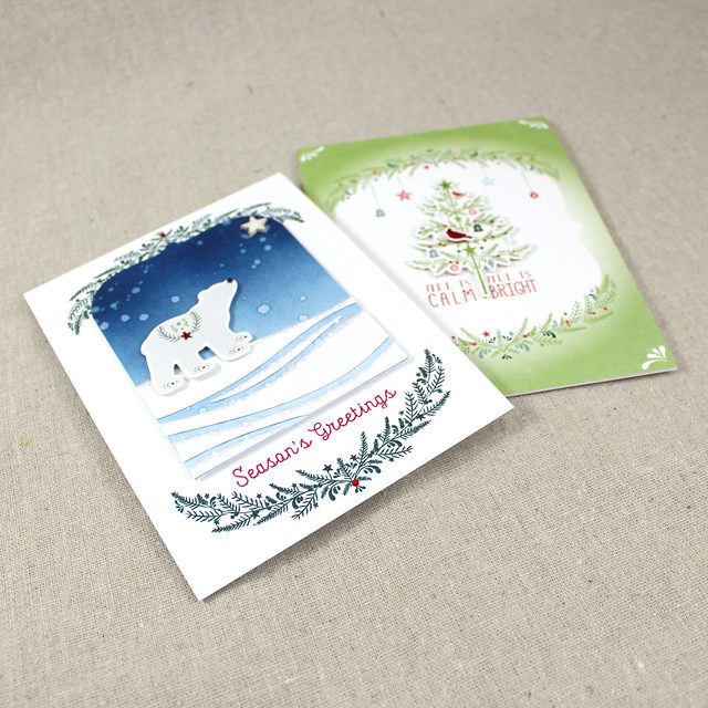 Holiday Folk Cards