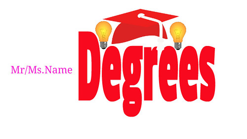 Degrees-after-names